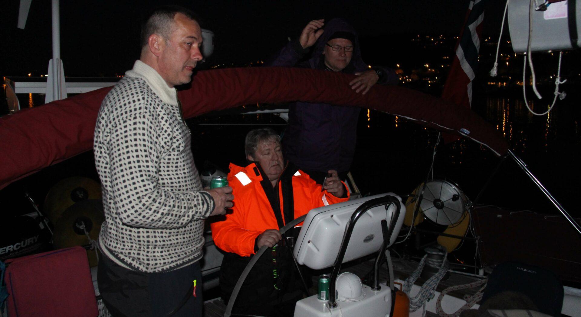 002 Per-Øivin, Thore og Johan, avreise fra Stavanger