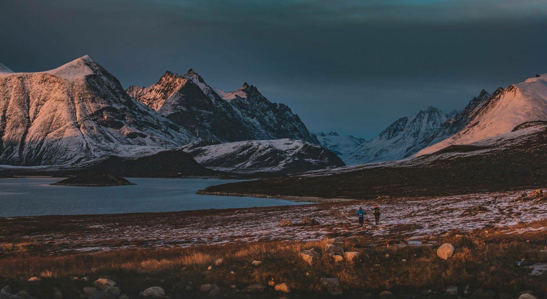 Et lite stykke Grønland. Fotoꓽ Peter Emanuel Falk