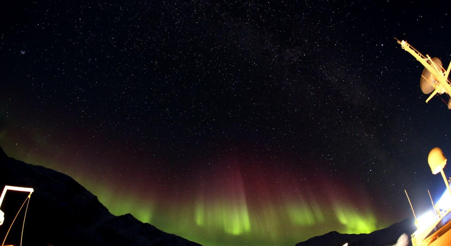Grønland skjemte oss bort med fabelaktig nordlys. Fotoꓽ Ben Cooke
