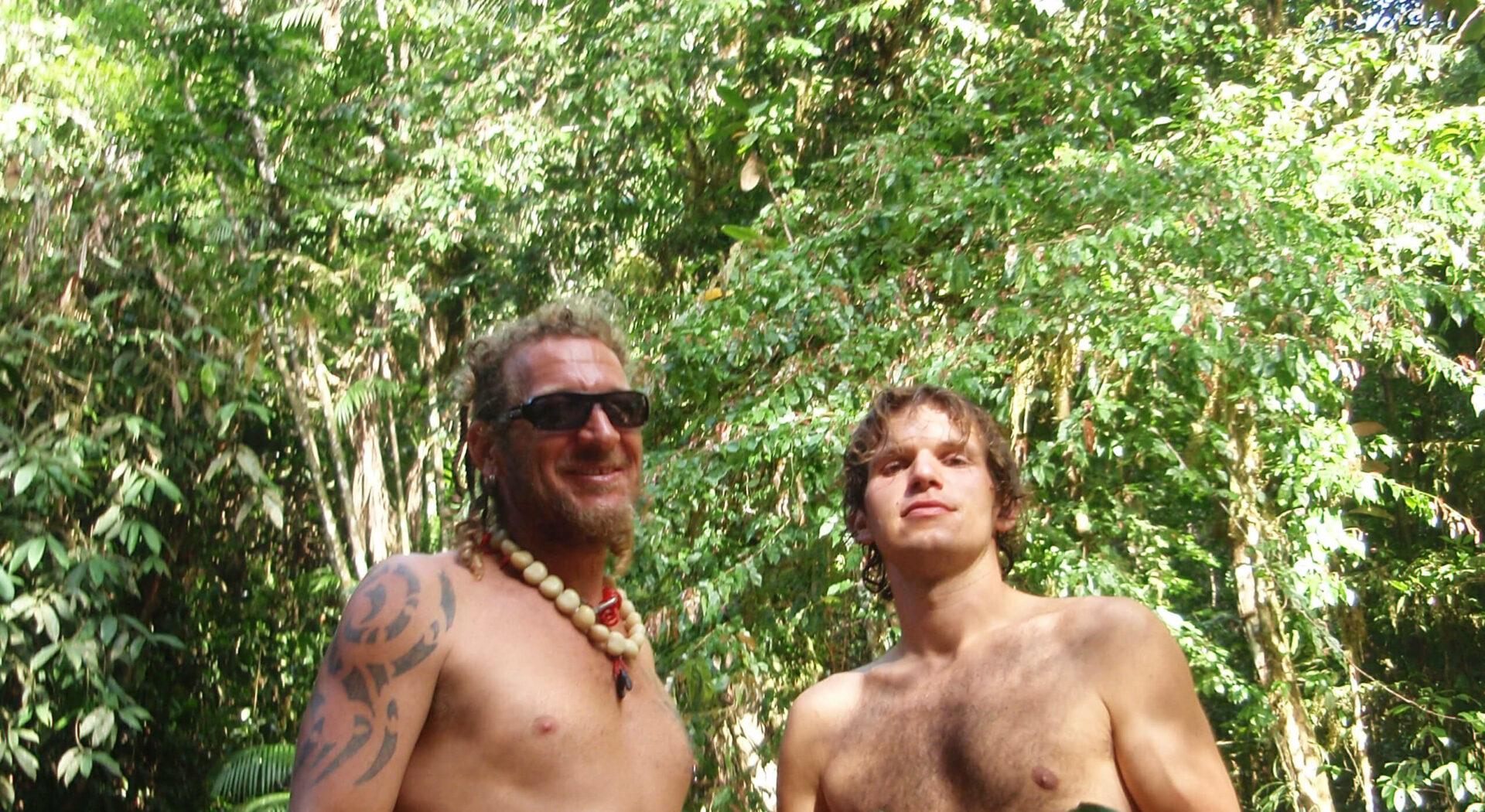 Havnemester Ragga og Paul i jungelen