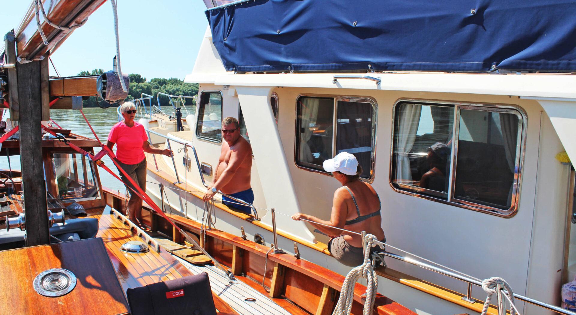 Møte med norsk båt