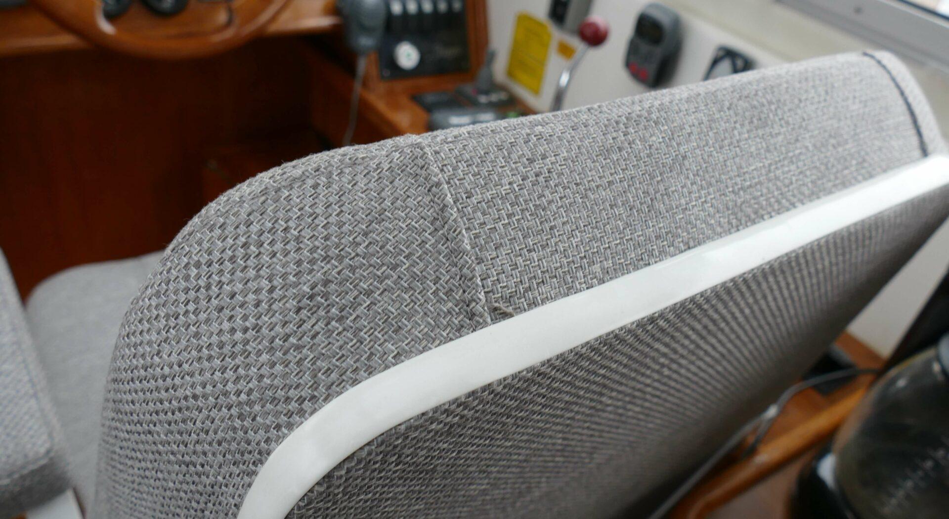 Ny førerstol detalj