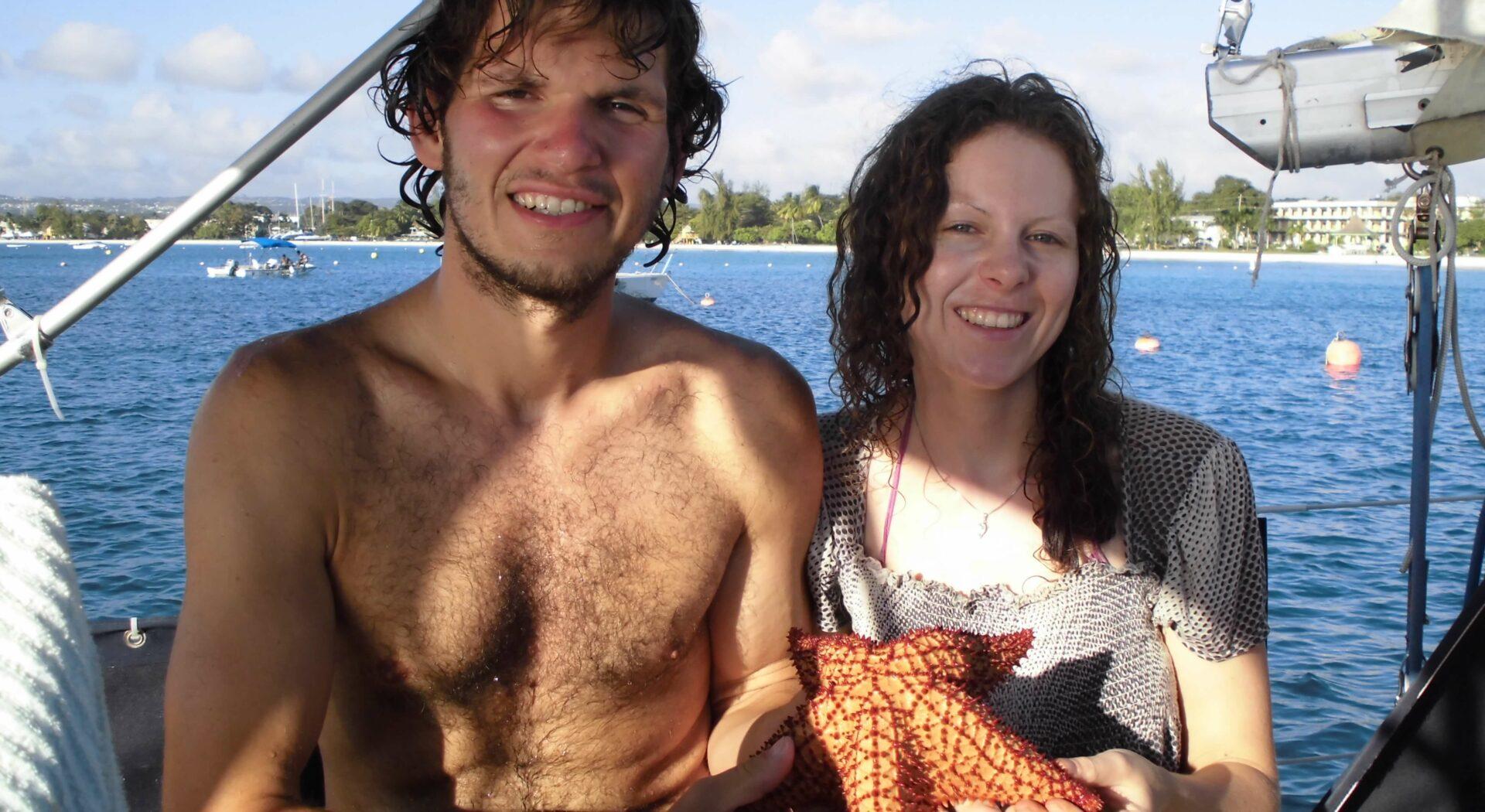 Sjøstjerna vi fant på Barbados