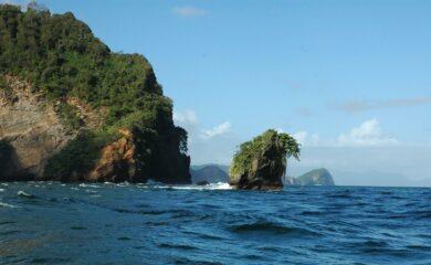 Trinidads kyst redigert (flekken er fjernet)