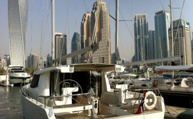 Twisted tower in Dubai IYC