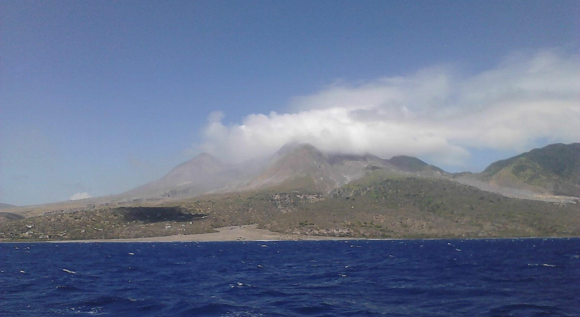 Vulkanen Soufrière Hills