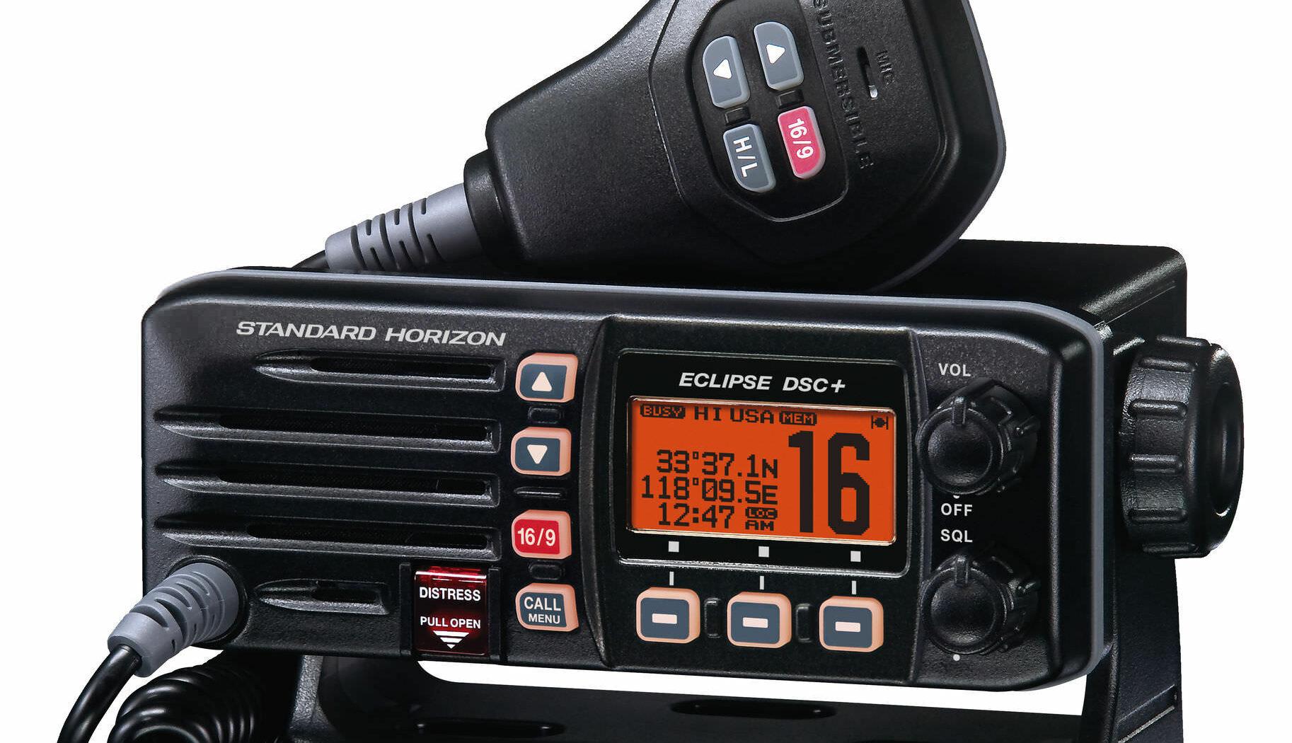 Boat radio / marine / fixed / VHF