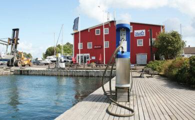Vellykket septiktømming hos Vallø