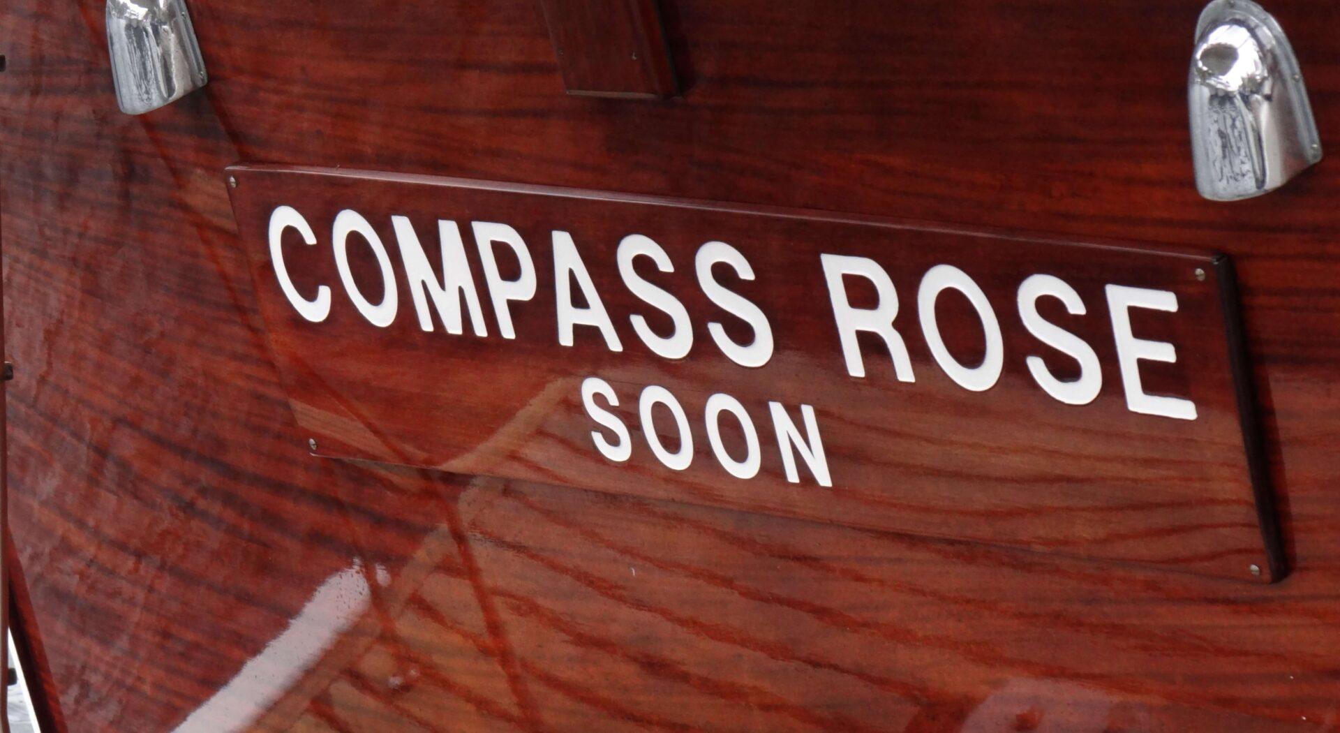 BV Compass Rose detalj