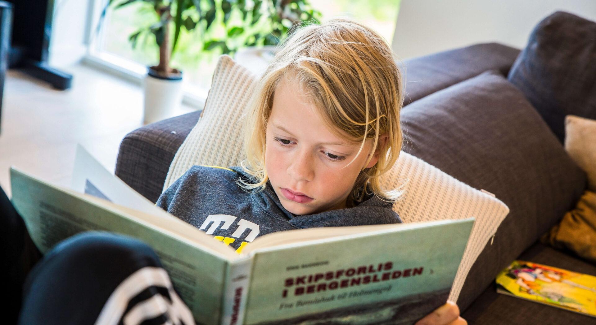 Bo leser i Skipsforlis i bergensleden